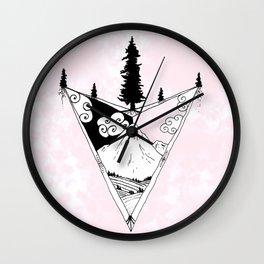 Arrow of the World Wall Clock