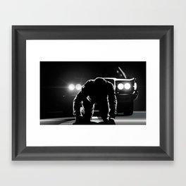 karma police Framed Art Print
