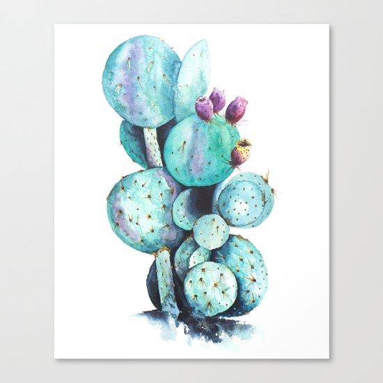 Cactus Love Canvas Print