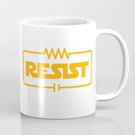 Resist - Funny Electrical Engineering Joke Coffee Mug