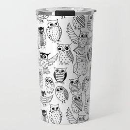 Funny owls Travel Mug