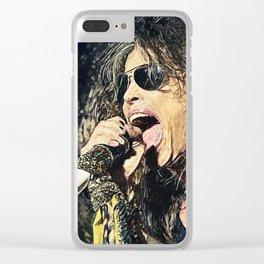 Steven Tyler Clear iPhone Case
