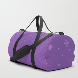 Purple Night Nebula Duffle Bag