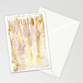earthy ink drips (1) Stationery Cards
