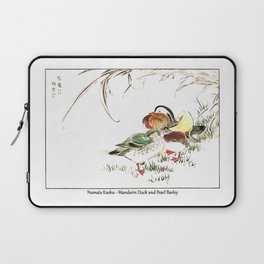 Numata Kashu Mandarin Duck and Pearl Barley Laptop Sleeve