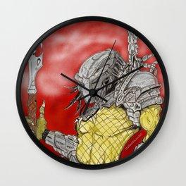 Preditor Wall Clock
