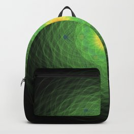 Green Mandala Backpack