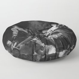 Stella - The Adoration of the Shepherds Floor Pillow