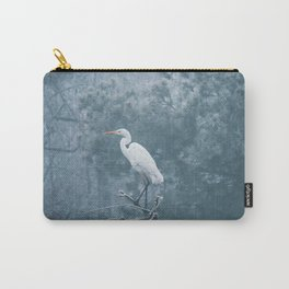 Snow Crane Carry-All Pouch