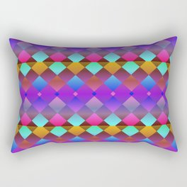 Purple Rectangular Pillow