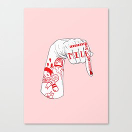 I Drink Your Milkshake Canvas Print