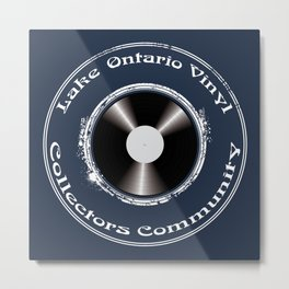 Lake Ontario Vinyl Collectors Community Badge/Logo Metal Print
