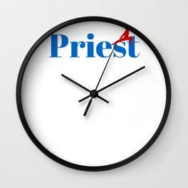 Top Priest Wall Clock