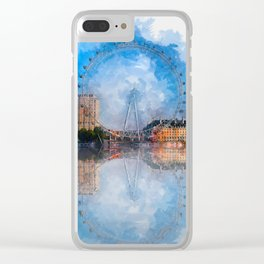The London Eye Clear iPhone Case