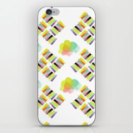 Colorful Socks iPhone Skin