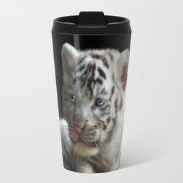 White Tiger Cub Travel Mug