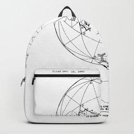 Buckminster Fuller 1961 Geodesic Structures Patent Backpack