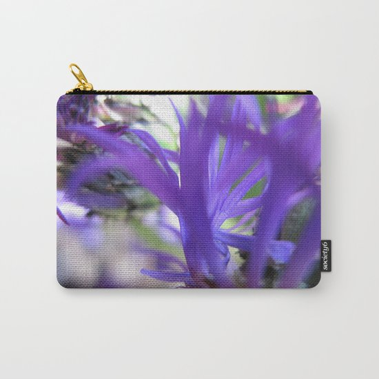 Purple Petals 75 Carry-All Pouch