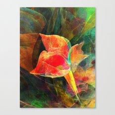 A Little Flower 2 Canvas Print