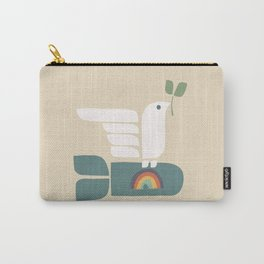 Peace dove and rainbow bomb Carry-All Pouch