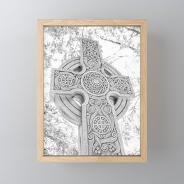 Celtic Cross Framed Mini Art Print