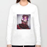 eugenia loli Long Sleeve T-shirts featuring Loli loli by clayscence