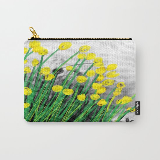 Yellow Flowers! Carry-All Pouch