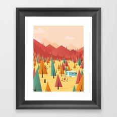 Go out Framed Art Print