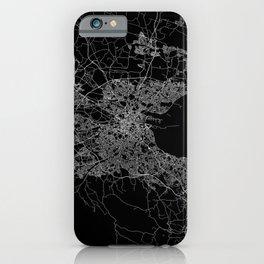 Dublin map iPhone Case