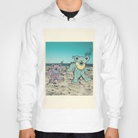 grateful dead Hoodies featuring Grateful Dead Beach Cruise by Charlotte hills