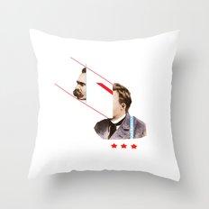 TROUBLESHOOT Throw Pillow