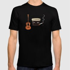 Espresso X-LARGE Mens Fitted Tee Black