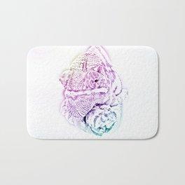 Chameleon drawing Bath Mat