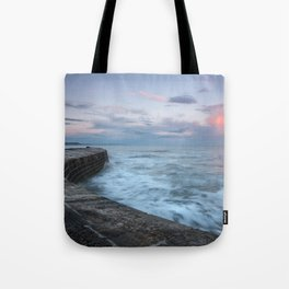 Sunset Over the Cobb Tote Bag