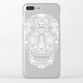 Mexican Halloween Clear iPhone Case