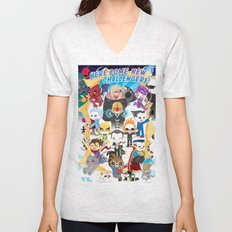 ULTIMATE MARVEL VS CAPCOM 3 ROBOTICS Unisex V-Neck