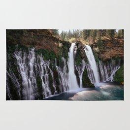 Burney Falls Panorama Rug