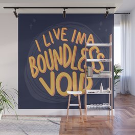 I live in a boundless void (The Good Place) Wall Mural