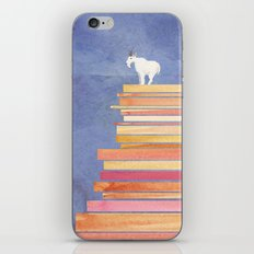 Goat on a Cliff iPhone & iPod Skin