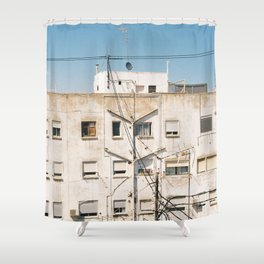 Roof of Valencia Shower Curtain