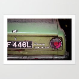 Car Touring 2002 Art Print