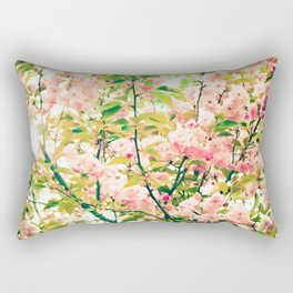 Spring Blossoms (1) Rectangular Pillow
