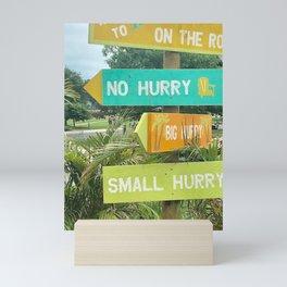 """No Hurry"" Photography by Willowcatdesigns Mini Art Print"