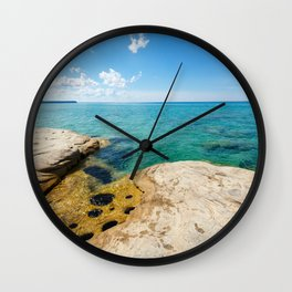 The Coves on Lake Superior - Pictured Rocks Wall Clock
