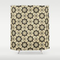 moroccan Shower Curtains featuring *Moroccan by Mr and Mrs Quirynen