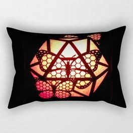 Burning Butterfly Lantern  Rectangular Pillow