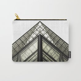 Abstract Louvre Carry-All Pouch