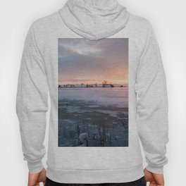 Sunrise at the Pond Hoody