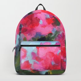 Bright Geraniums Backpack