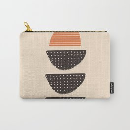 Textured Pebbles Carry-All Pouch